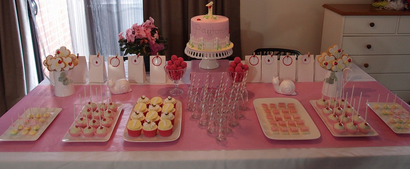 Cake Buffet Table
